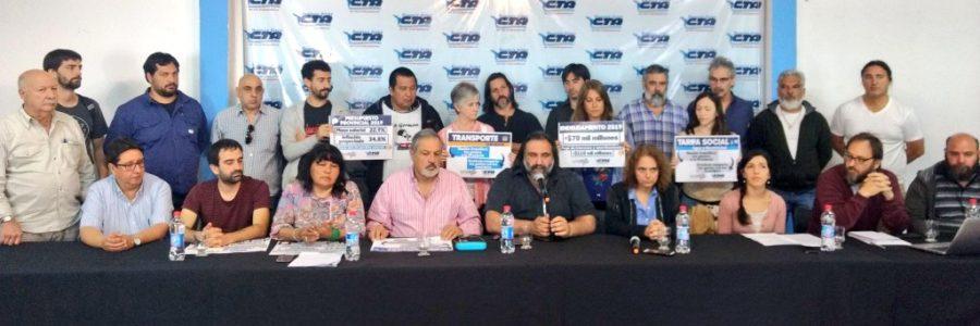 """b41f341b95a4a Baradel se reunirá con legisladores para """"frenar"""" el Presupuesto"""